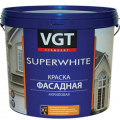 VGT SUPERWHITE / ВГТ ВД-АК-1180 краска фасадная, супербелая