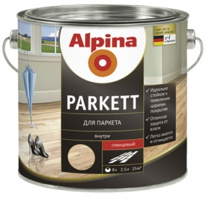 Alpina Parkett / Альпина Паркетлак паркетный глянцевый