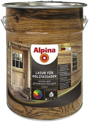 Alpina Lasur fur Holzfassaden / Альпина лазурь для деревянных фасадов