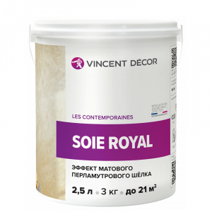 Vincent Decor Soie Royal / Винсент Декор Суа Роял декоративное покрытие с эффектом матового шелка