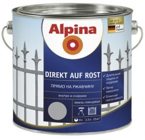 Alpina Direkt auf Rost / Альпина Директ Ауф Рост эмаль гладкая по ржавчине