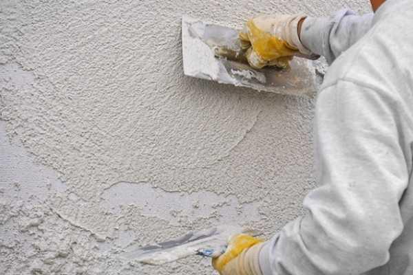 Цементно-известковые или гипсовые штукатурки